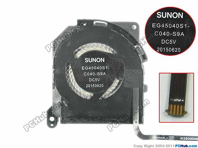 SUNON EG45040S1-C040-S9A Server Laptop Fan DC 5V 4-wire доска для объявлений dz 5 1 j9c 037 jndx 9 s c