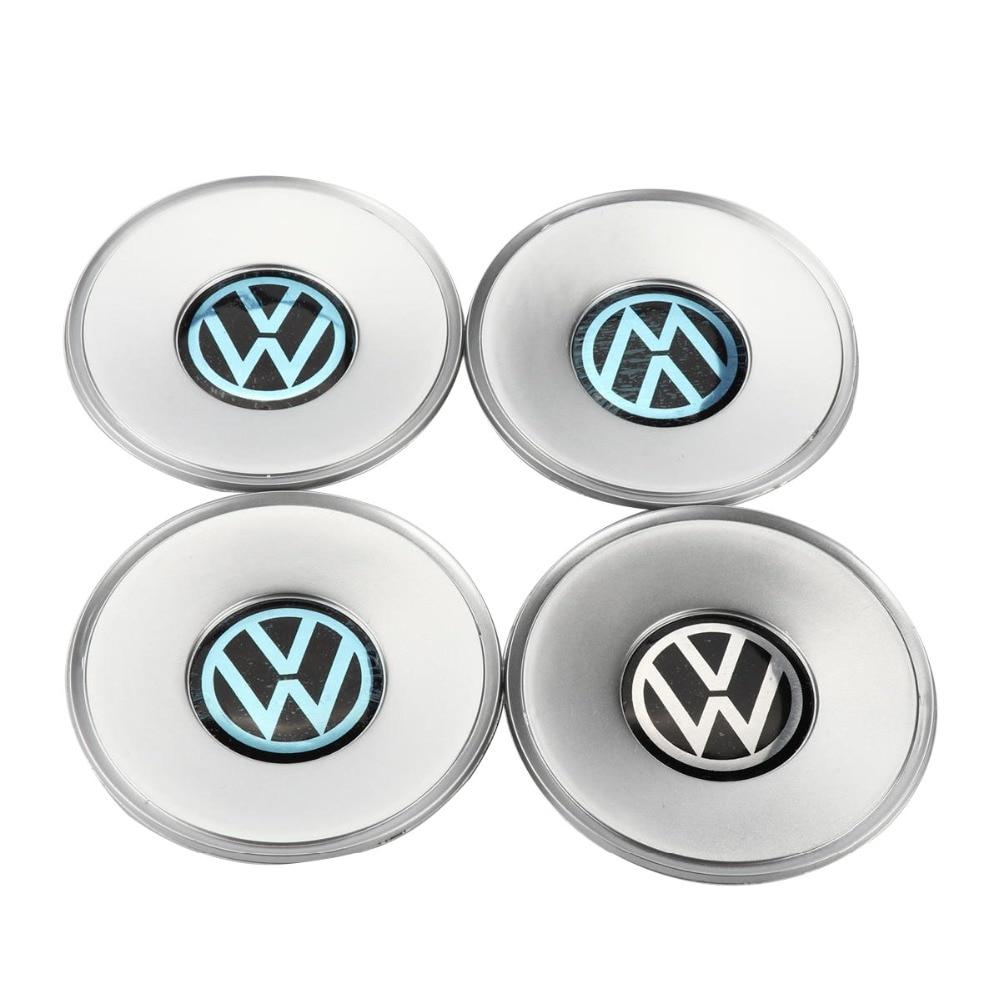 4 pcs Chrome Centre Moyeu de Roue Bouchon 154mm Pour VW Volkswagen Passat B5 Passat Variant 3B0 601 149