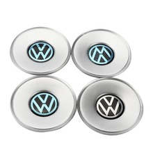 цена на 4pcs Chrome Wheel Center Hub Cap Cover 154mm For VW Volkswagen Passat B5 Passat Variant 3B0 601 149