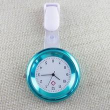 Nurse Watch Brooch Silicone Clip Infection Control Design Nurse Doctor Paramedic Brooch Fob Watch QL Sale все цены