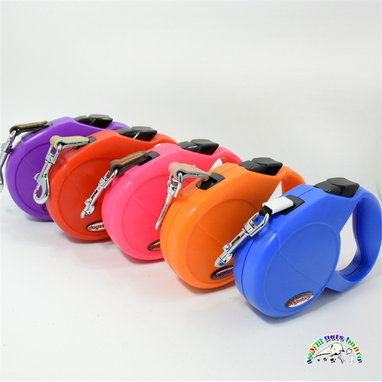 2PCS Automatic Dog Retractable Leash For Small Medium Large Dogs Strong Nylon Dog Lead Extending Puppy Pet Walking Leads 400cm
