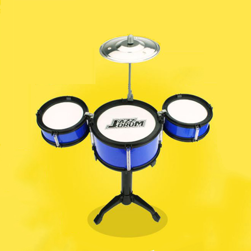 1 Set Classic Noise Maker Jazz Drum Kids Early Education Toy Percussion Instrument Kid's Toys Musical Toy Musical Instruments image