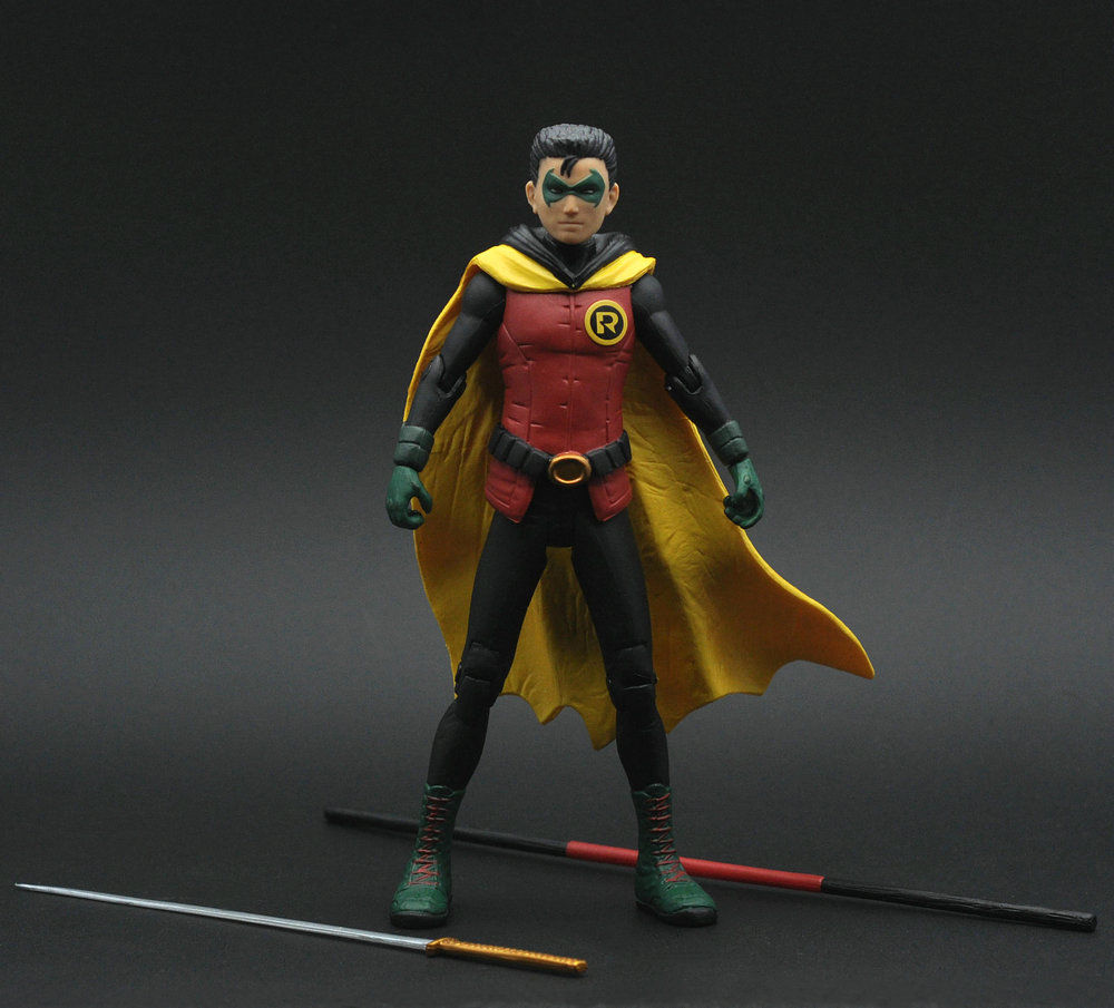 batman justice league wayne enterprise damian as robin