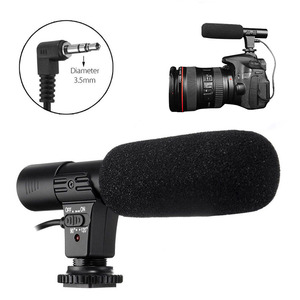 Image 5 - 3.5mm Universal Microphone External Stereo Mic for Canon Nikon DSLR Camera DV Camcorder  MIC 01 SLR Camera Microphone
