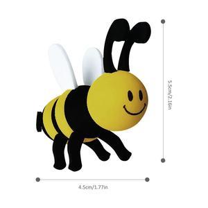 Пчела автомобильная антенна шар украшение на крышу автомобиля Милая мультяшная кукла прекрасное украшение для антенны общего назначения антенна мяч для продуктов