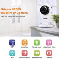 Sricam SP009a HD Wireless IP Camera WIFI Video Remote Security Camera IP CCTV Video Baby Sleep Camera Night VisionP2P