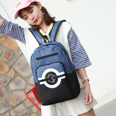 Anime Pokemon Poke Ball Backpack Cosplay Accessories Prop School Bag Travel Bag Christmas gift