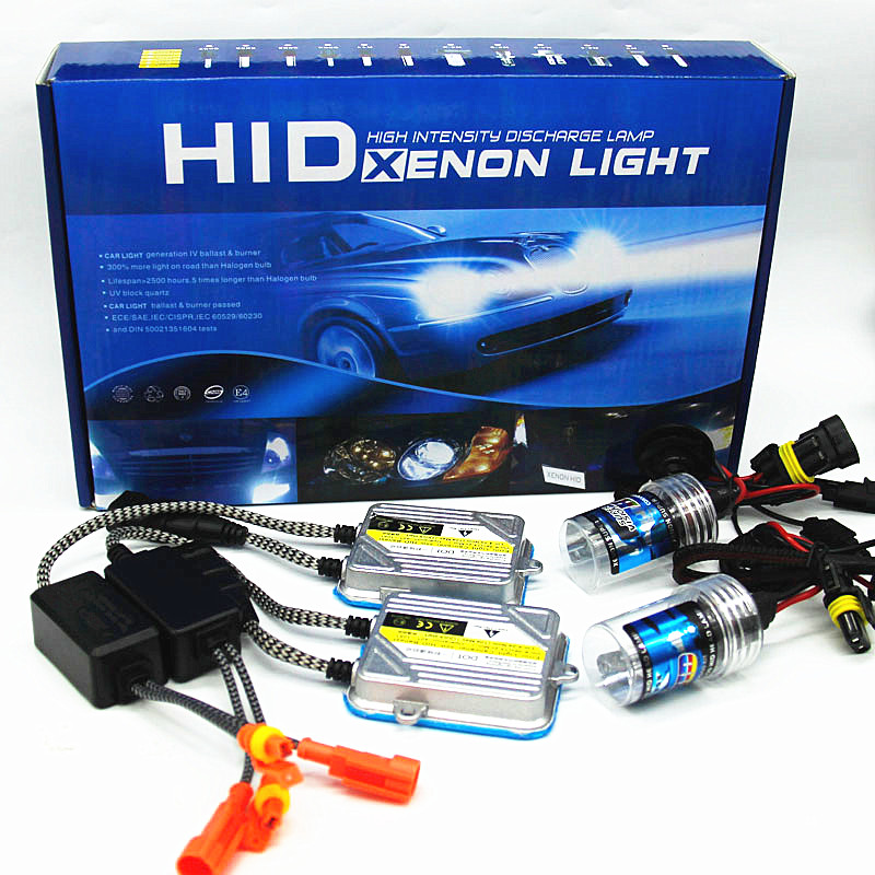 цена на new 55W HID XENON headlight h1 h3 h7 h11 h8 h9 9005 9006 880 881 9004 9007 H13 H4 4300k 6000k 8000k bulb kit