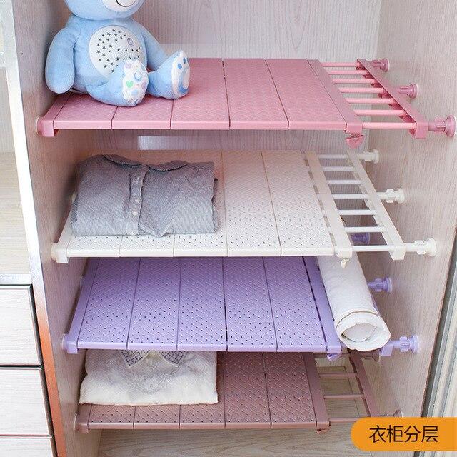 1 stücke Kleiderschrank Lagerung Layered Separator Küche Kostenloser ...