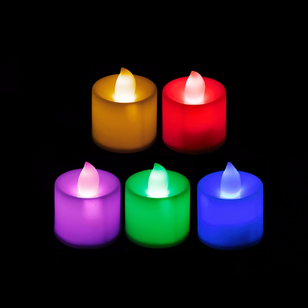 HNGCHOIGE Romantic Flameless Battery Operated Electronic LED Candle Light Wedding  HNGCHOIGE Romantic Flameless Battery Operated Electronic LED Candle Light Wedding