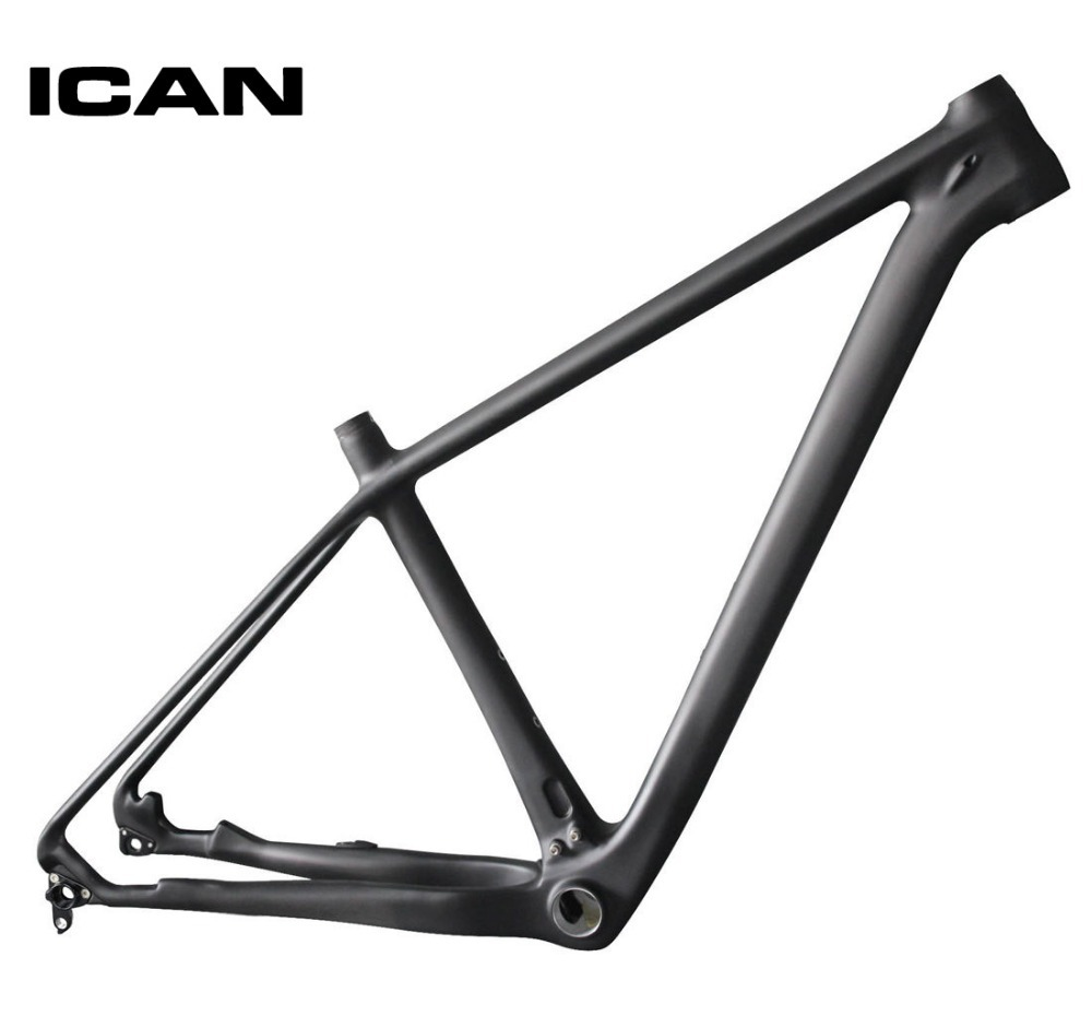 ICAN 29ER carbon frame mtb mountain bike 142x12 135x9 UD-matt mtb carbon frame 29er BB92 bottom bracket bicycle frame X6 29er full suspension mountain bike toray carbon fiber mtb bicicleta bicycle frame ud matt bb92 165 38mm rear shock travel 110mm