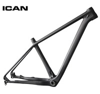 ICAN 29ER carbon frame mtb mountain bike 142x12 135x9 UD matt mtb carbon frame 29er BB92 bottom bracket bicycle frame X6