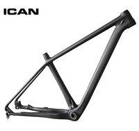 ICAN 29er карбоновая рама горный велосипед 142x12 135 х 9 ud матовые MTB углерода кадр 29er BB92 дно кронштейн раме велосипеда X6
