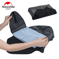 Naturehike Big Capacity Travel Luggage Folding Clothes Storage Bags Organizer Packing Suitcase Handbag Pouch Divider Container