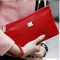 100% Genuine Leather women leather Handbags' Evening Party purse Bag  Women DAY Clutch  Women's Leather Clutch bag QQ468