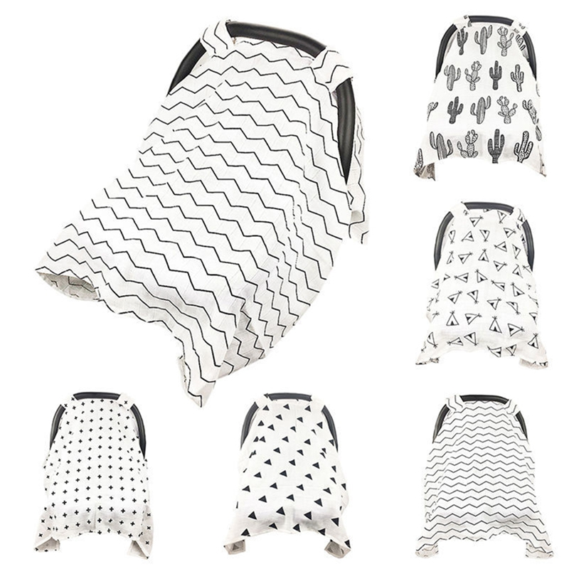 Preety Baby Stroller Car Seat Cover Breathable Sun Shade Canopy Dustproof Blanket