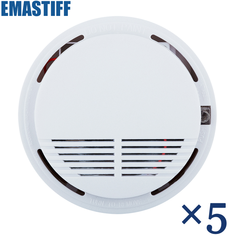 Free Shipping Hot Selling New 433 Wireless Smoke Detector Fire Alarm Sensor for Indoor Home Safety Garden Security wireless smoke fire detector for wireless for touch keypad panel wifi gsm home security burglar voice alarm system
