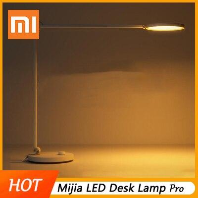 Xiaomi Mijia LED lampe de bureau Pro Protection intelligente des yeux lampe de lecture lampes de Table gradation lampe sans ombre travail avec Apple HomeKit