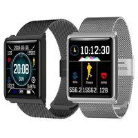 Smart Bracelet Watch N98 Color Screen Waterproof Wristband Heart Rate Monitor Blood Pressure Measurement Fitness Tracker Band