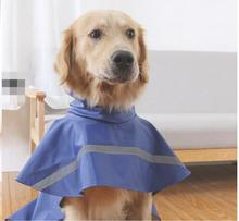 Stylish Hi-Vis Waterproof Raincoats For Large Dogs