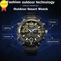 Relógio esportivo para homens corredor profissional natação ciclismo escalada IPX7 smartwatch à prova d' água heart rate monitor relógio de pulso LED