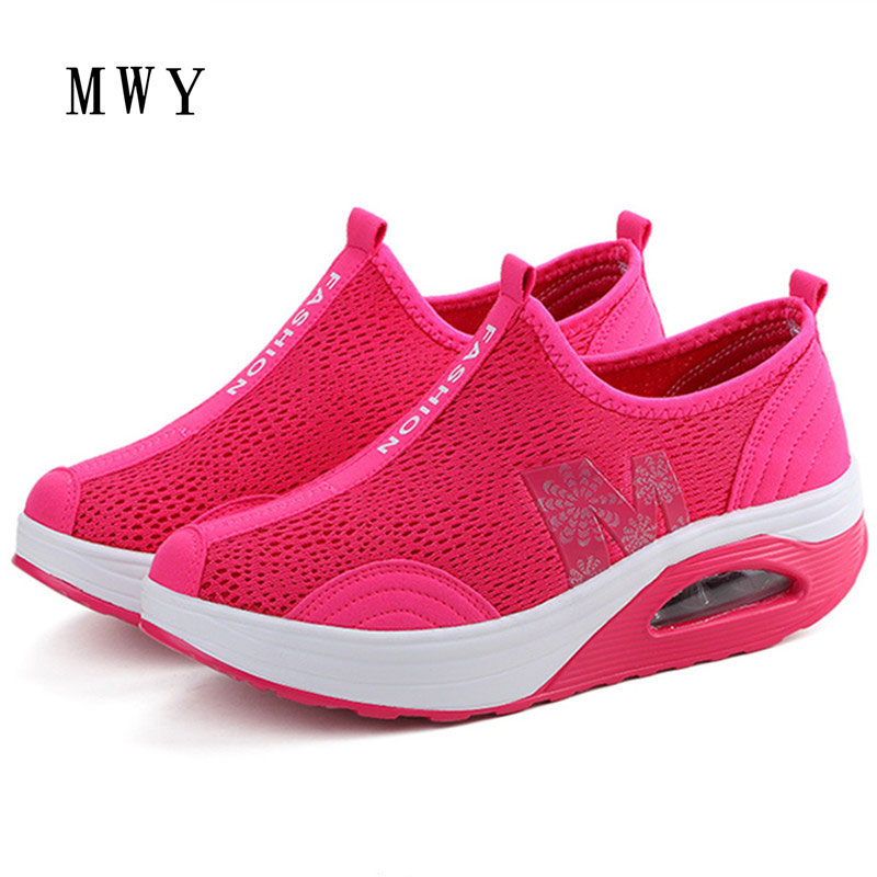 first rate 430d8 0a392 MWY-Woman-Casual-Shoes -2018-New-Arrival-Breathable-Women-Fashion-Wedges-Platform-Women-Slimming- Shoes-Air.jpg