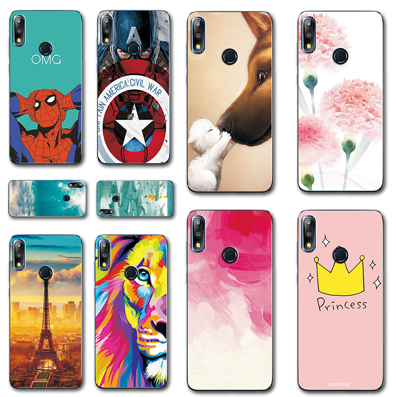 Phone Bags & Cases Fast Deliver Novelty Hero Phone Bags For Asus Zenfone Max Pro M2 Zb631kl Iron Man Painted Tpu Case Cover For Asus Zenfone Max M2 Zb633kl Cellphones & Telecommunications