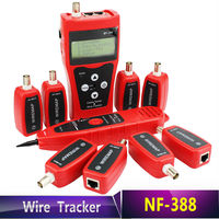 NF 388 Cat5 Cat6 RJ45 UTP STP Line Finder Telephone Wire Tracker Diagnose Tone Tool Kit