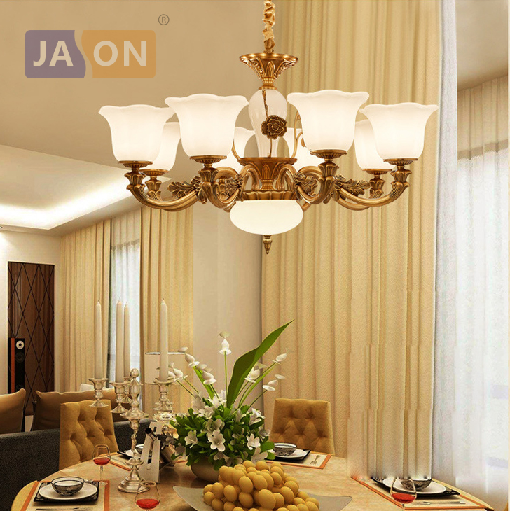 led e14 American vintage Zinc Alloy Glass LED Chandelier Chandelier Lighting LED Light LED Lamp For Foyer Dinning Room design borosilicate glass led chandelier lightings turkey light