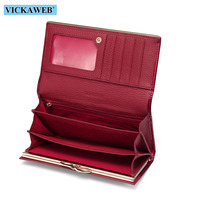 Women Wallets Brand Design High Quality Leather Wallet Female Hasp Fashion Dollar Price Alligator Long Women Wallets And Purses 5