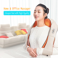 U Shape Electrical Back Shoulder Body Neck Massager Infrared Heated Kneading Car/Home Massagerr Multifunctional Shawl