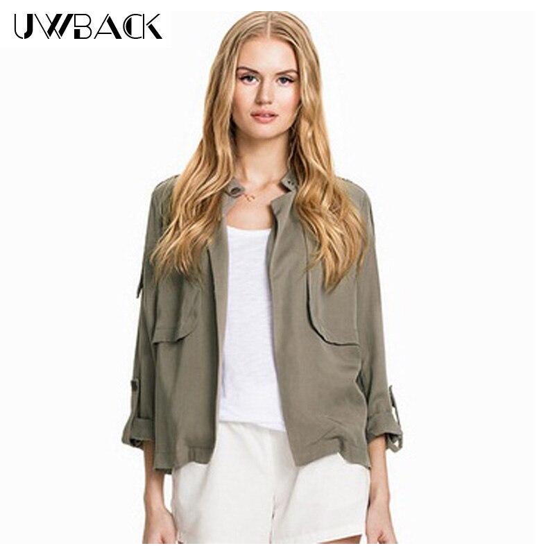 Short Green Army Jacket Women Promotion-Shop for Promotional Short ...