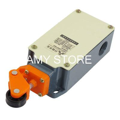 цена на Metal Case Momentary Side Roller Lever Limit Switch 2NO 2NC DPDT LXP1-404/1EA