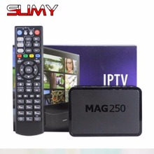 2017 Mag250 Linux IPTV TV Box Linux Operating System IPTV Set Top Box Not Include IPTV Account Mag250 TV Box Mag250 Server Box