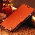 Para xiaomi redmi note 3 genuine leather case de alta qualidade real função de cobertura de couro para xiaomi redmi note 3 pro casos de telefone