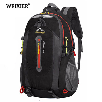 WEIXIER Waterproof Large Capacity Nylon Men's Backpack Laptop Bag High Quality Youth Student Bag Casual Backpack Men's Bag canvas double shoulder backpack high quality student laptop daypacks bag large capacity travel backpack outdoor storage bag