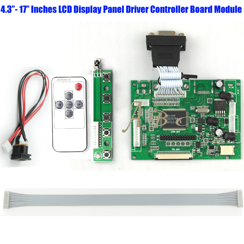 Demo Board Demo Board & Accessories Wholesale 10 Pcs Vga Av 50p Ttl Lvds Controller Board+remote Monitor Kit For Raspberry Pi 3 4.3-17 Ips Tft Lcd Display Panel Limpid In Sight