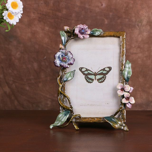 4x6 Inch Europe Freestyle Flower Retro Knorean Creative Frames For