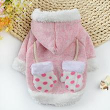 New pet dog sweater two feet wholesale Teddy small and medium dogs autumn winter Christmas Pet Clothes