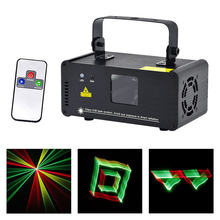 Mini 3D Effect 250mw RGY Laser DPSS Scanner Lights Wireless Remote DMX PRO DJ Home Party Stage Lighting Show System 3D-RGY250