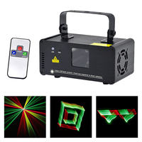 Mini 3D Effect 250mw RGY Laser DPSS Scanner Lights Wireless Remote DMX PRO DJ Home Party Stage Lighting Show System 3D RGY250