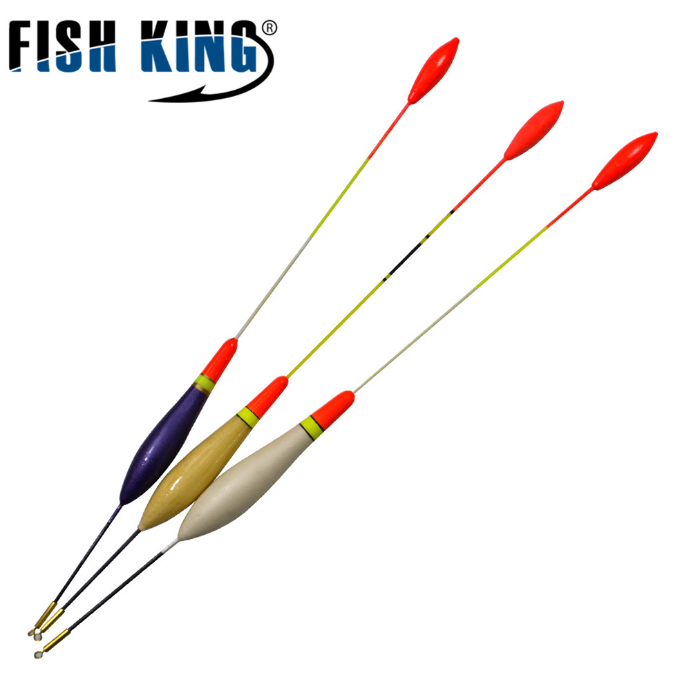 FISHKING 10PCS/Lot 2G 3G 4G Fishing Buoy Bobbers Fish Floats Fishing Tackle Flotteur Peche Pesca Pescaria Acessorios