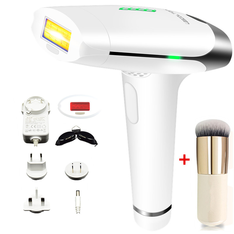 2 in 1 Laser Epilator IPL Body Hair Remover with Free Face Care Unisex Tool
