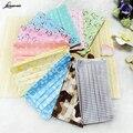 5pcs/Pack Fashion cute Prints Chaorou spunlace three disposable face mask respirator earmuffs medical mask