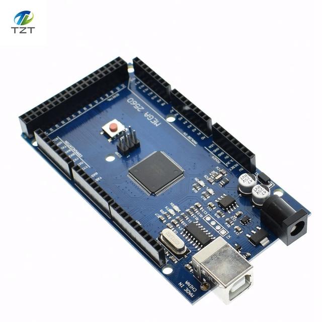 Mega 2560 R3 Mega2560 REV3 (ATmega2560-16AU CH340G) Board ON USB Cable compatible for arduino [No USB line]