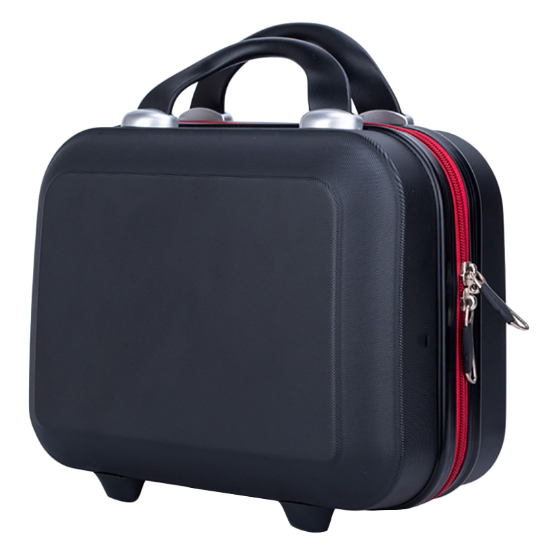Ladies Cosmetic Case Brand Makeup Artist Professional Beauty Cosmetic Cases Cosmetic Bag Portable Pretty Suitcase Hot Sale Black