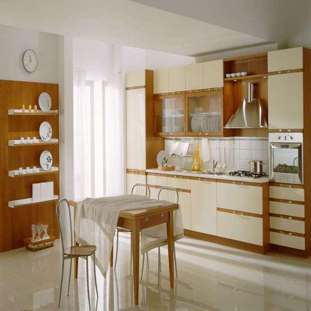 Modular Melamine Board Simple Style Low Price Kitchen Cupboard