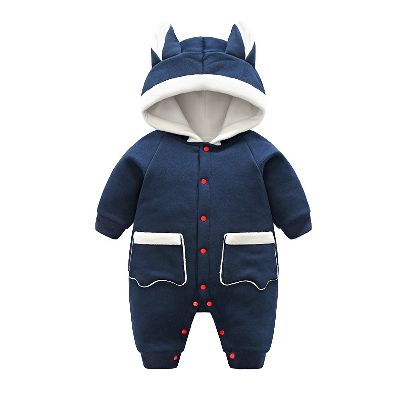 2018 New Animal style Baby cotton coat Infant Clothing Baby Boy Girl Clothes Cute Cartoon Hooded Winter Warm Jumpsuit Costume iyeal newborn winter clothes cotton padded baby clothing long sleeve hooded animal baby girl boy romper cartoon warm jumpsuit