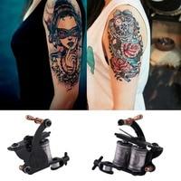 90 264V Compact Equipment Tattoo Machine Gun Inks Power Supply Cord Set Kit Body Beauty Tools