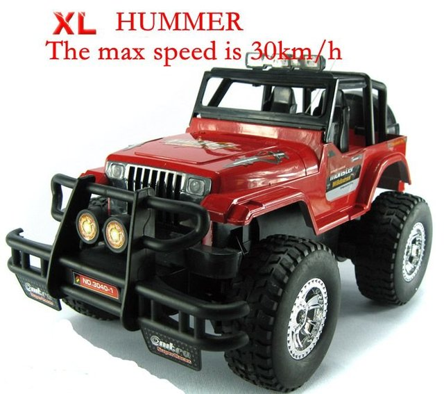 Trade Price 4wd Rc Hummer Car Toy 1 12 Scale 4ch Cars With Light And Recharger